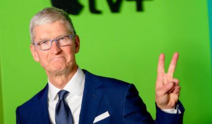 库克就任苹果CEO十周年,市值增加了2万亿多美元