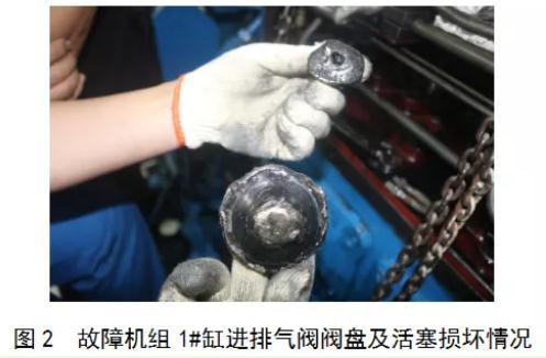 船舶发电机排气阀阀杆断裂的原因和设备维护方法