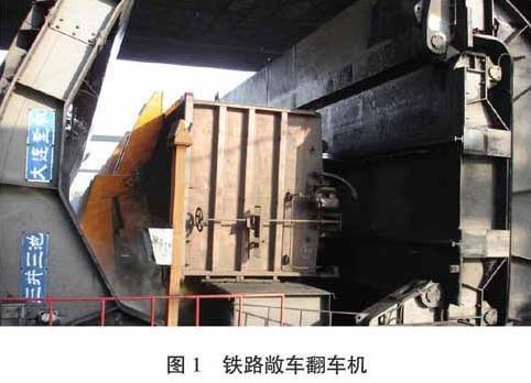 铁路集装箱翻车机翻卸系统设计及应用