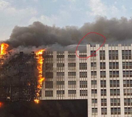 大连凯旋大厦明火已扑灭 无人伤亡,起火原因正在调查中