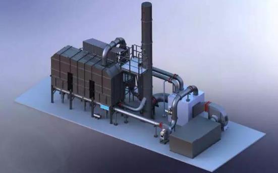 RTO系统遇到二氯甲烷,对焚烧系统设备选型有何影响?