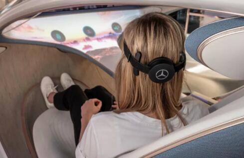 """奔驰新款概念车加入脑机接口,用""""意念""""控制汽车"""