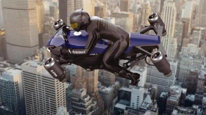 全球首款喷气式飞行摩托车开卖,245 万一辆