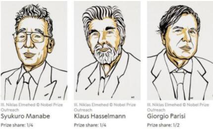 诺贝尔物理学奖首次颁发给气候物理学家,三位科学家共享2021年诺贝尔物理学奖
