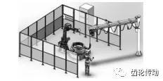 基于关节机器人的齿轮倒角机器人方案及使用效果