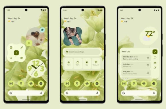 谷歌发布Android 12正式版:全新设计语言,首批支持机型出炉
