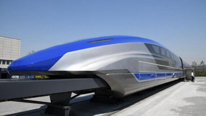 中国磁悬浮列车首次采用新型超导技术,可以做到贴地飞行