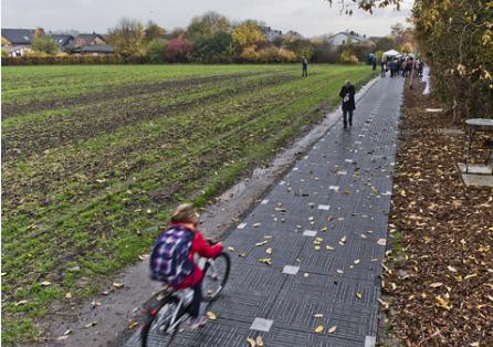 德国首条太阳能自行车道正式启动