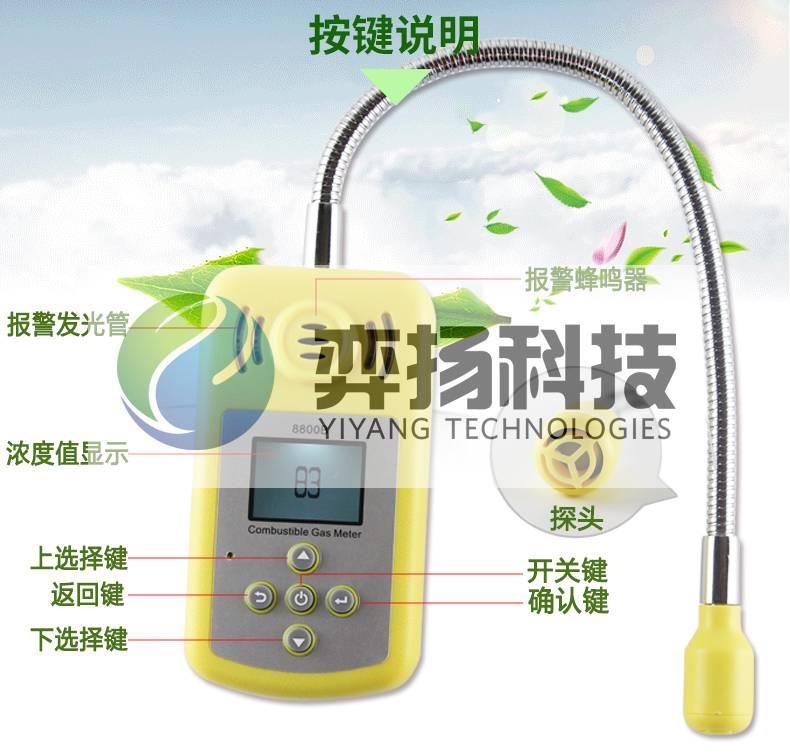 内蒙通辽天然气检测仪BM815B