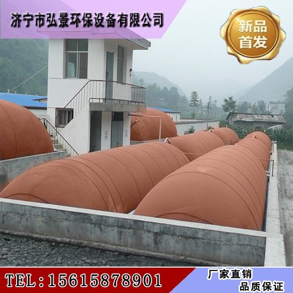 红泥沼气袋厂家、0.8个厚200立方红膜软体储气池多少钱