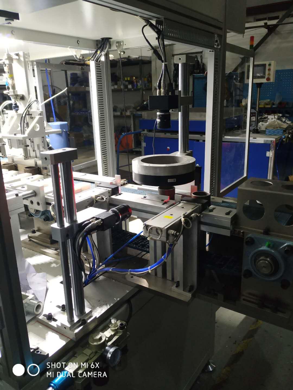電子元器件產品移栽視覺檢測包裝機