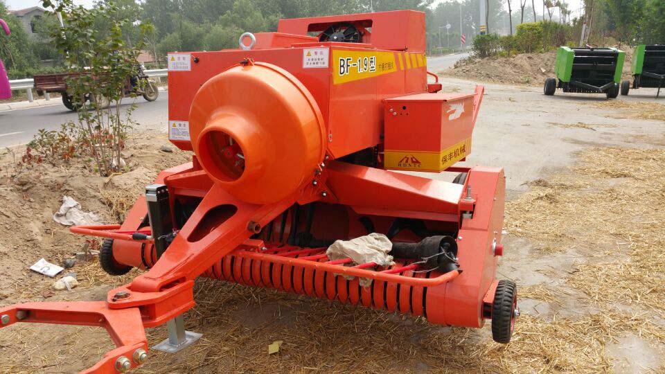 厂家直销秸秆打捆机 玉米秸秆收割打捆机 工作视频