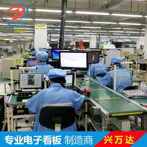 兴万达生产线SOP电子作业指导书/SOP电子看板/SOP看板/电子看板
