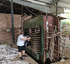 二手热压机多少钱 12层3x6尺 泉州鑫基产