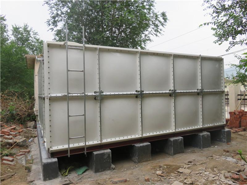 日照玻璃钢水箱 玻璃钢模压水箱 玻璃钢组装水箱