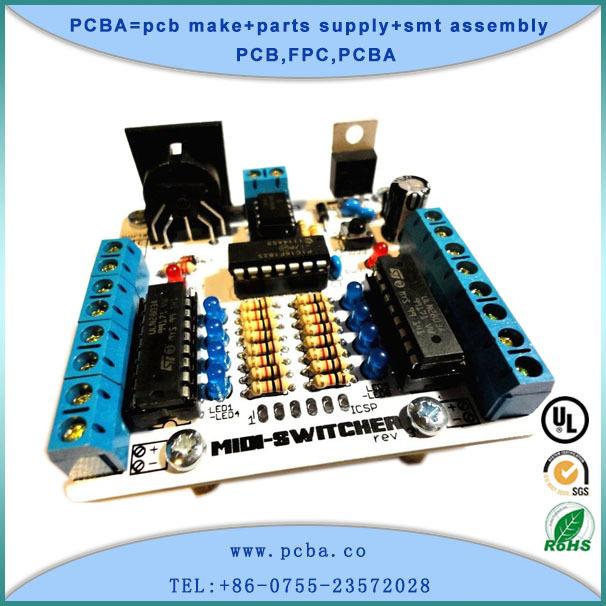 廠家生產家電控制板 pcb電路板加工 四層沉金單端阻抗電路板
