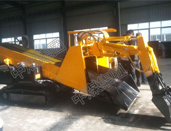 45千瓦斜坡用ZWY-80/45L履带式扒渣机出矿效率高