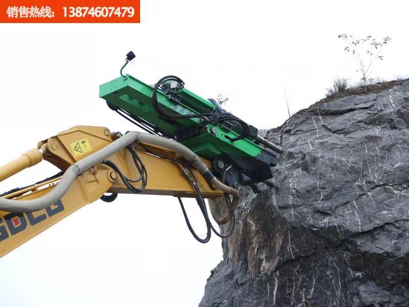 礦山機械  工程機械裝備  挖改潛孔鉆機  挖掘鑿巖機