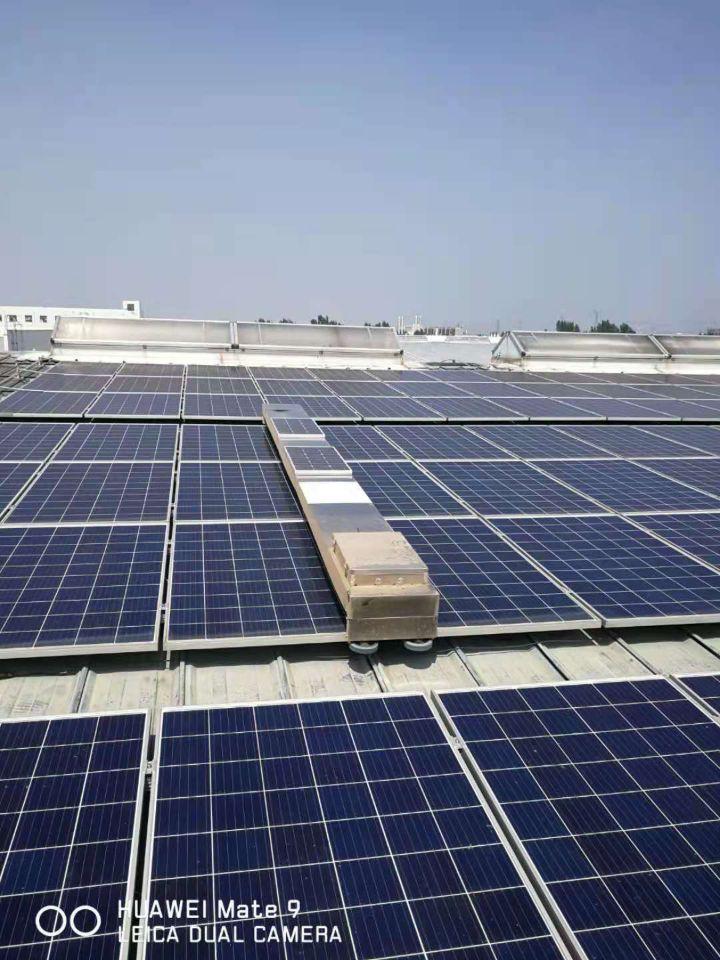天津屋頂電站換行和單機清潔運維-德瑞智能