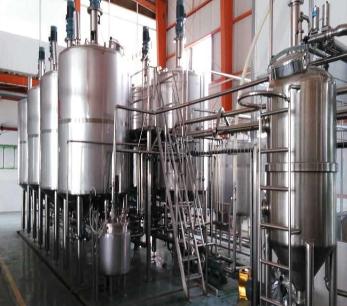 发酵和提取生产线设计