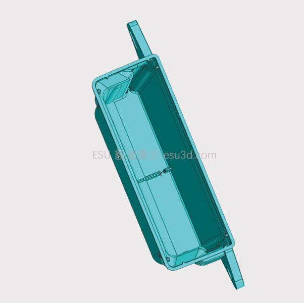 汽車領域:保險絲盒模具定制 毅速模具3D打印隨形水路