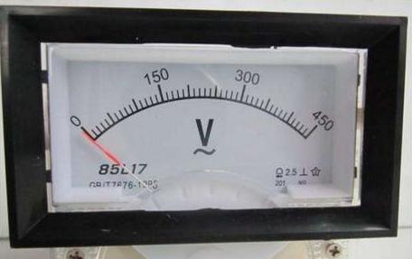 指针式电压表基本简介