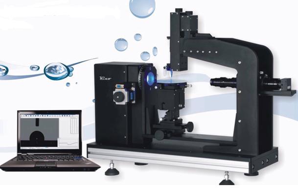 接触角测量仪用于测试滚动角及超疏水接触角
