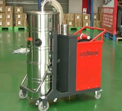 坦龙工业吸尘器操作视频