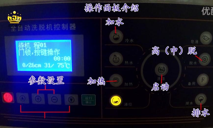 集团卫生-软件-操作规范-工业级洗衣机视频流程(20公斤)