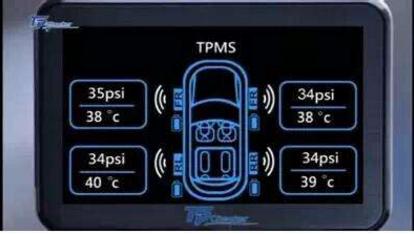 胎压监测系统的系统类别