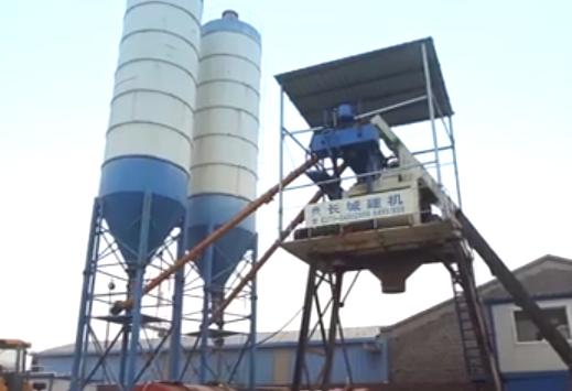 长城建机——专业的混凝土搅拌站制砂机厂家