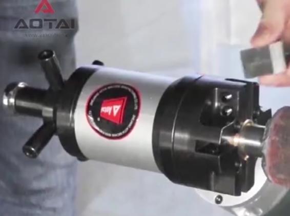 内涨式坡口机ISY-80TN操作视频-澳太机械