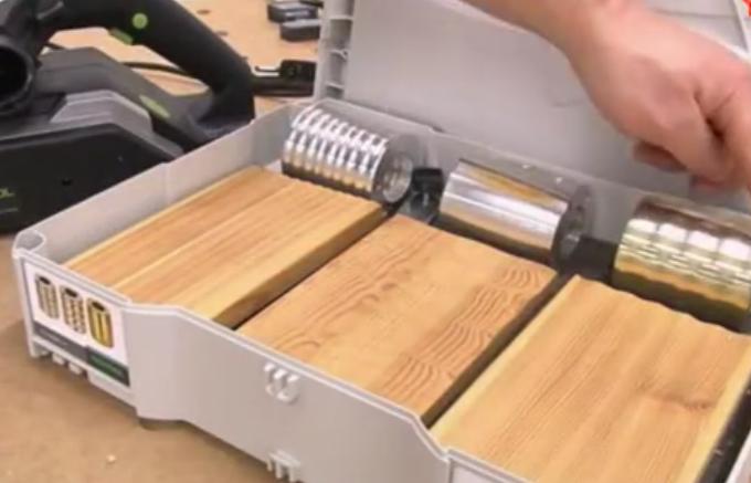 木工工具: 个性化表面波纹加工电刨机