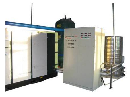 冷凝式节能器在燃气锅炉余热回收中的应用