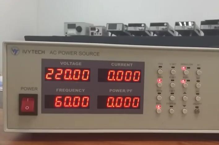 APS5000A可编程交流变频电源基本操作教程