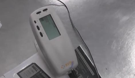 <天势科技>电脑电池标签如何检测印刷色差?