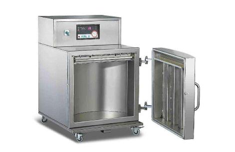 经纬机械立式全自动真空包装机解决不定型产品的包装问题
