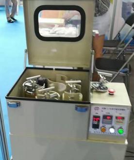2017广州陶瓷工业展,咸阳金宏亮相新型球磨机