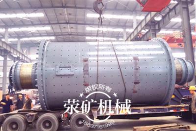 荥矿钢渣球磨机成功出口塞内加尔