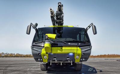 奥地利卢森堡亚公司的美洲豹消防车 机场专用