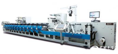 太阳机械STF-340型柔性版印刷机不断升级以满足客户需求