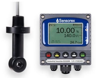 Sensorex推出SensoPro环形电导率监测系统