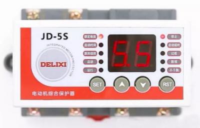 德力西电气强势推出JD-5S电动机综合保护器