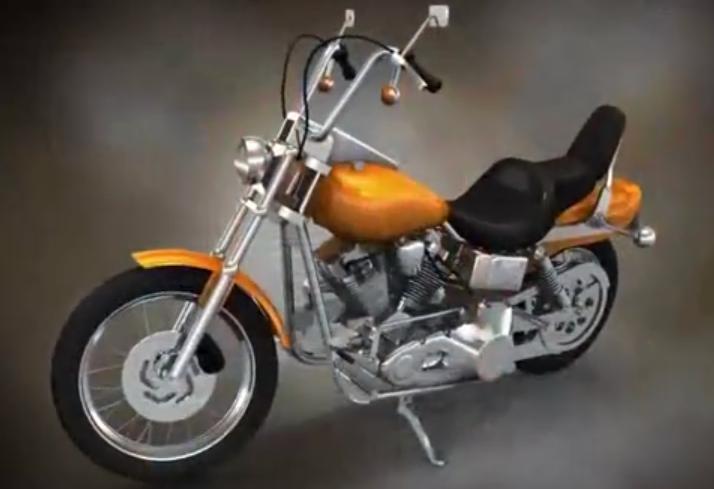 摩托车手动变速器工作原理,3D结构演示,看懂的都是行家