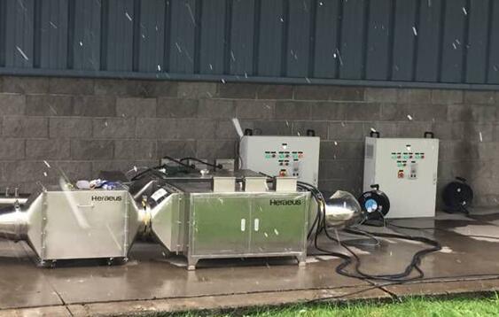 紫外光催化技术应用于工业香精生产的废气处理