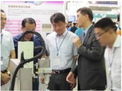 雷立强在Touch Taiwan 2017推出电浆加工技术及关键模块组件系列产品