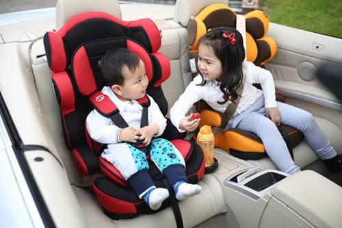 儿童安全座椅的三种安装方式