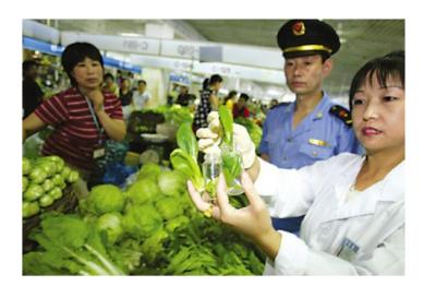 植物源食品中的农药残留的常用检测方法