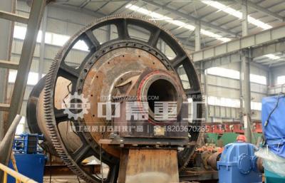 中嘉重工制造的Φ2.7×4.5米棒磨机设备成功下线