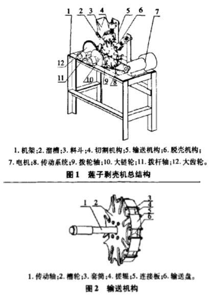 创新设计实例分析莲子剥壳机